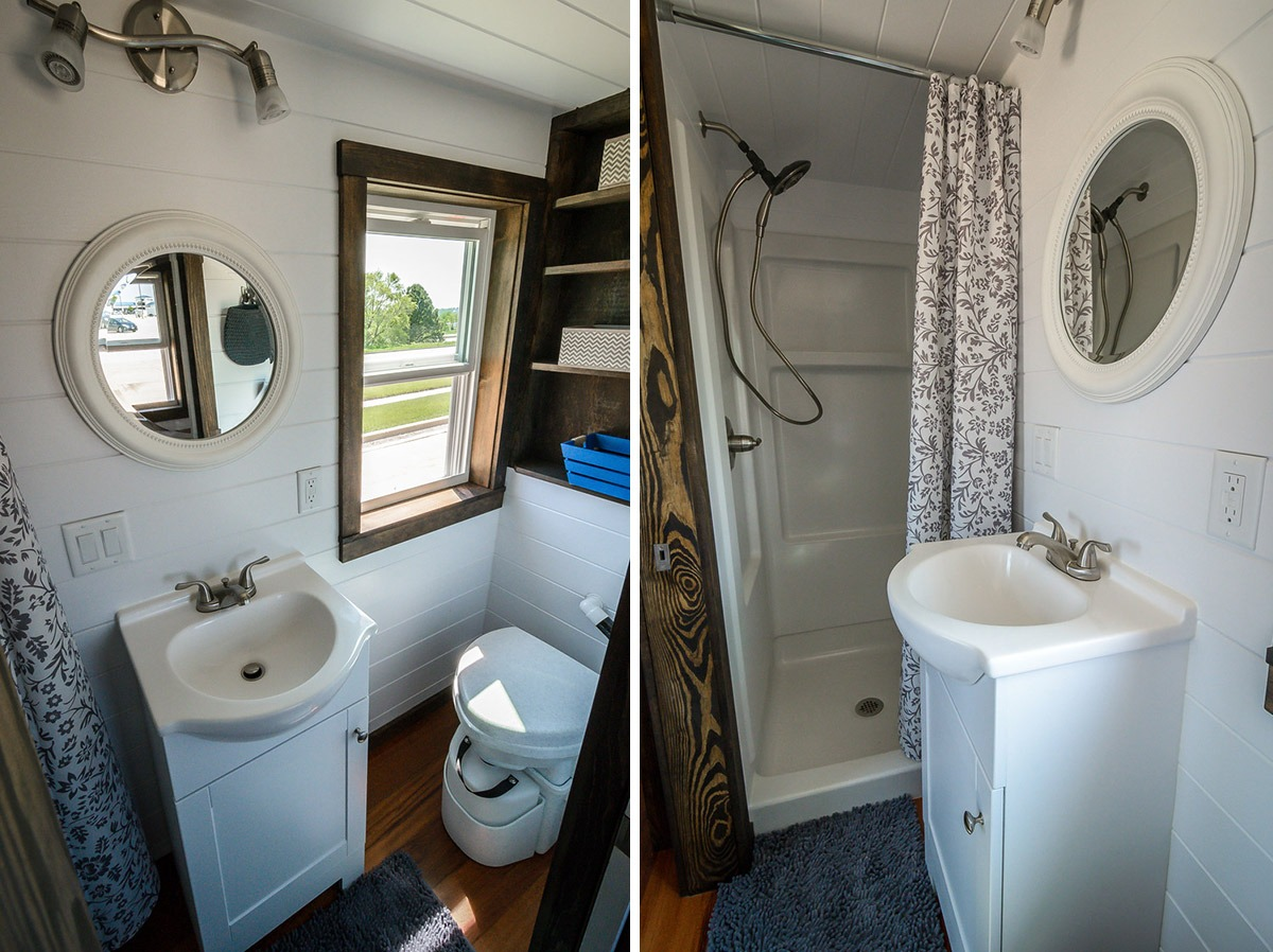Bathroom - Triton by Wind River Tiny Homes