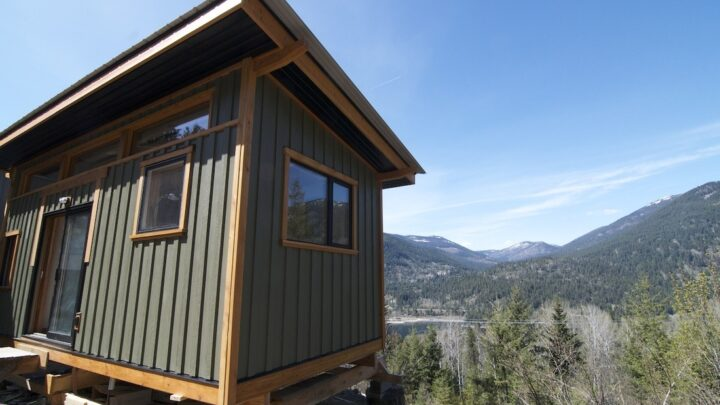 The V House by Nelson Tiny Houses