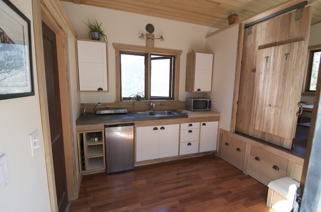 Kitchen - The V House by Nelson Tiny Houses