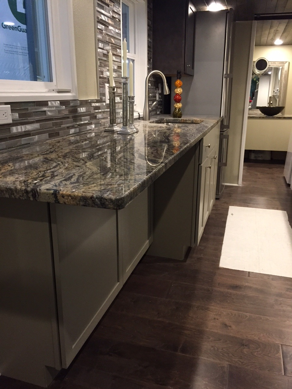 Granite Kitchen Counters - Westbury by Cornerstone Tiny Homes