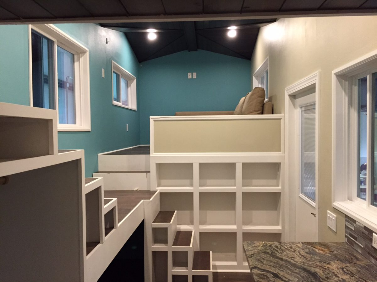 Lots of Shelves - Westbury by Cornerstone Tiny Homes