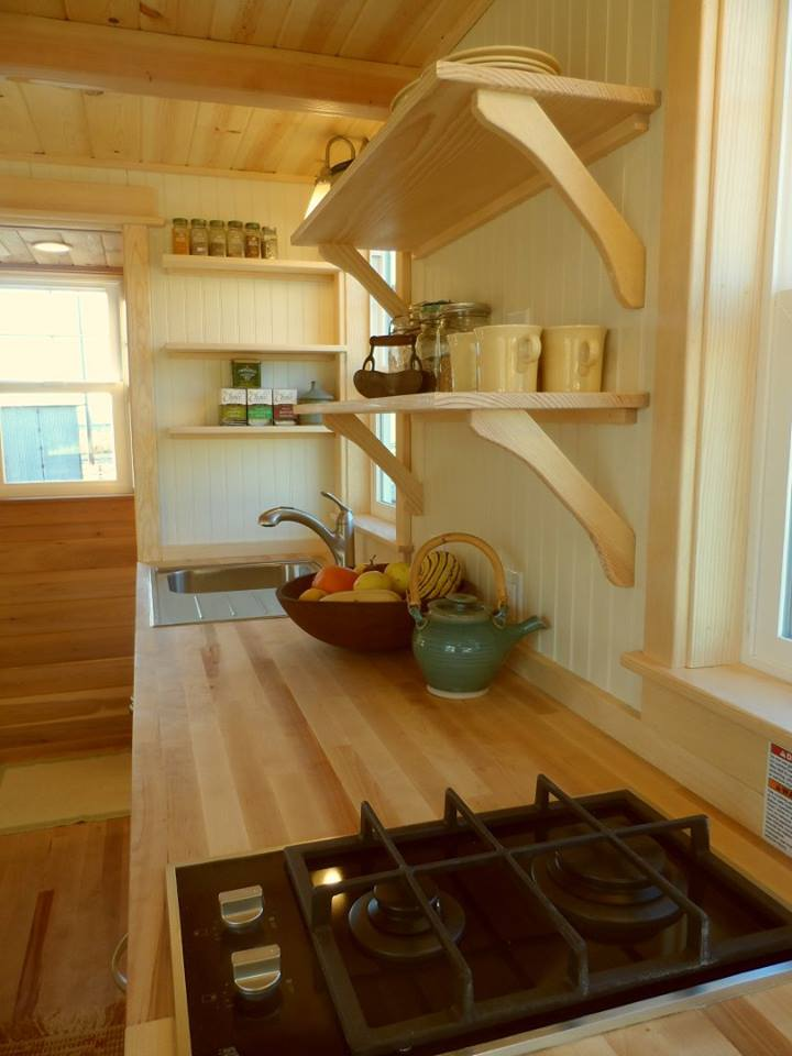 Kitchen Counter - Payette by Greenleaf Tiny Homes