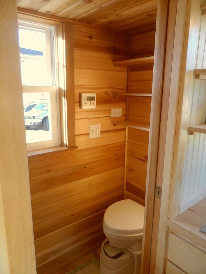Bathroom - Payette by Greenleaf Tiny Homes