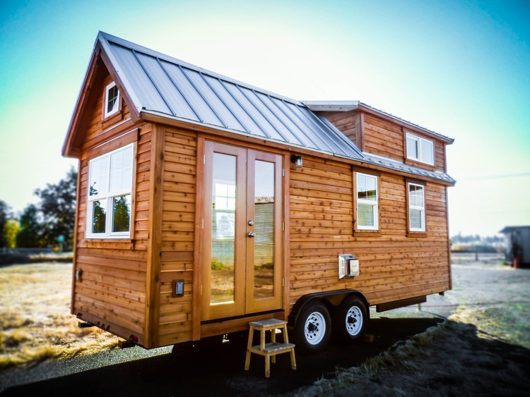 Exterior View - Payette by Greenleaf Tiny Homes