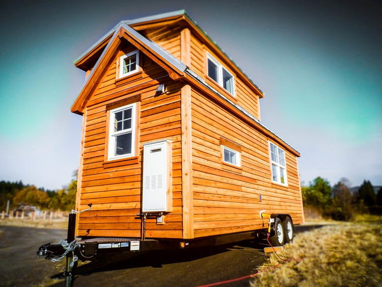 Exterior Side View - Payette by Greenleaf Tiny Homes