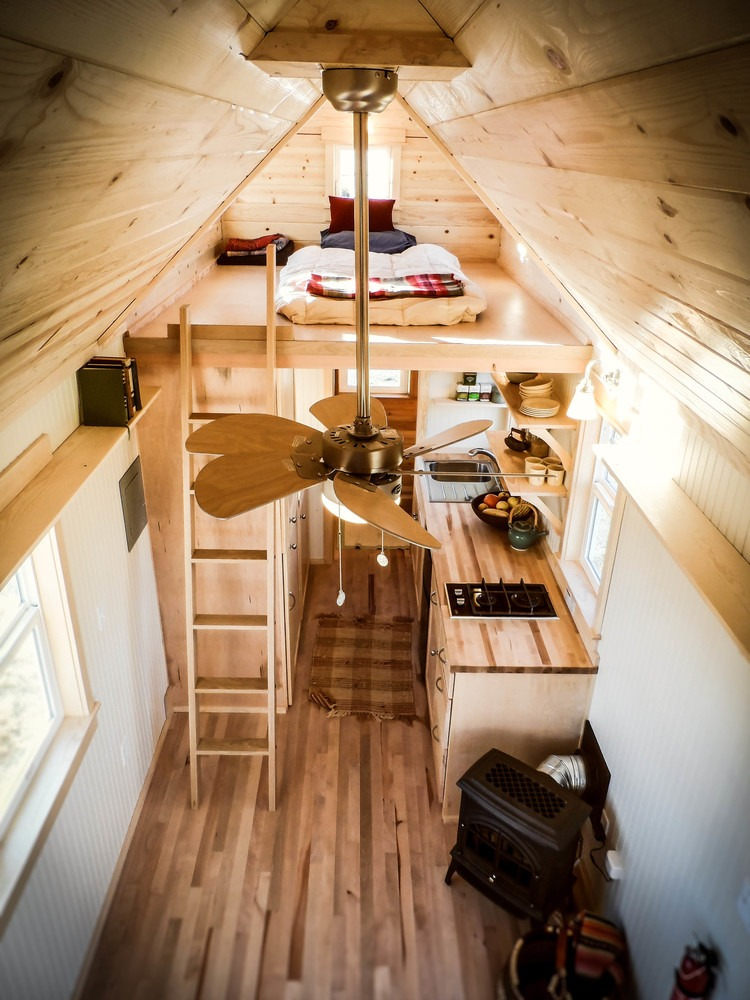 Aerial View - Payette by Greenleaf Tiny Homes