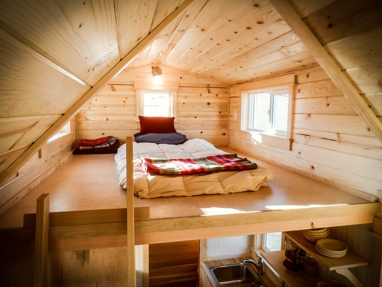 Bedroom Loft - Payette by Greenleaf Tiny Homes