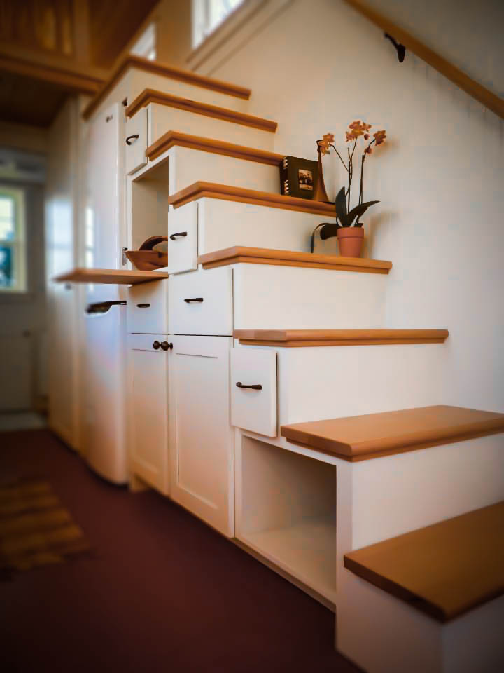 Storage Stairs - Payette by Greenleaf Tiny Homes