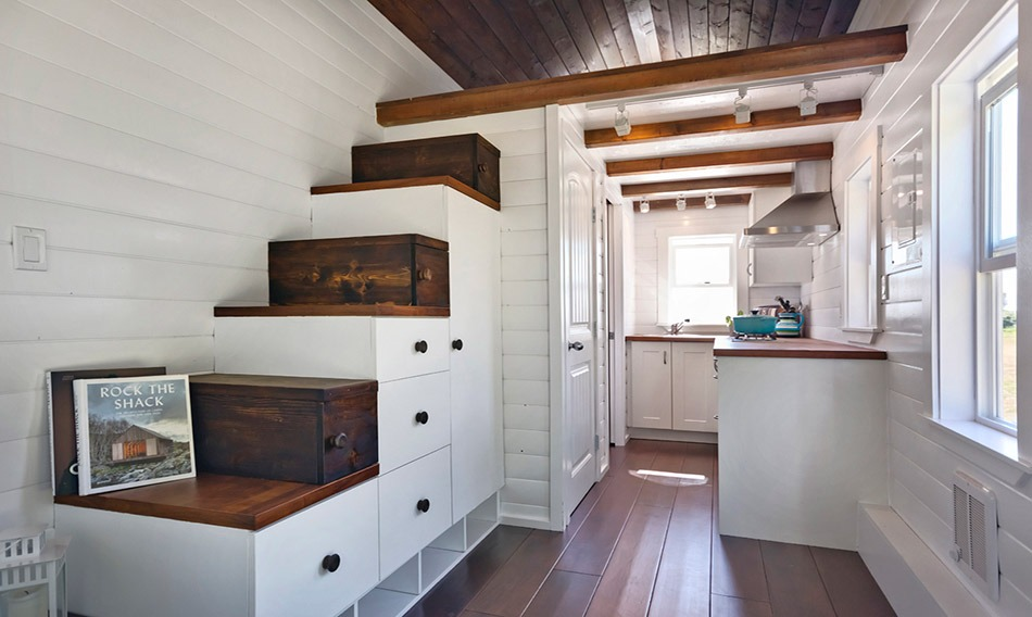 Interior View - Amalfi Edition by Mint Tiny Homes