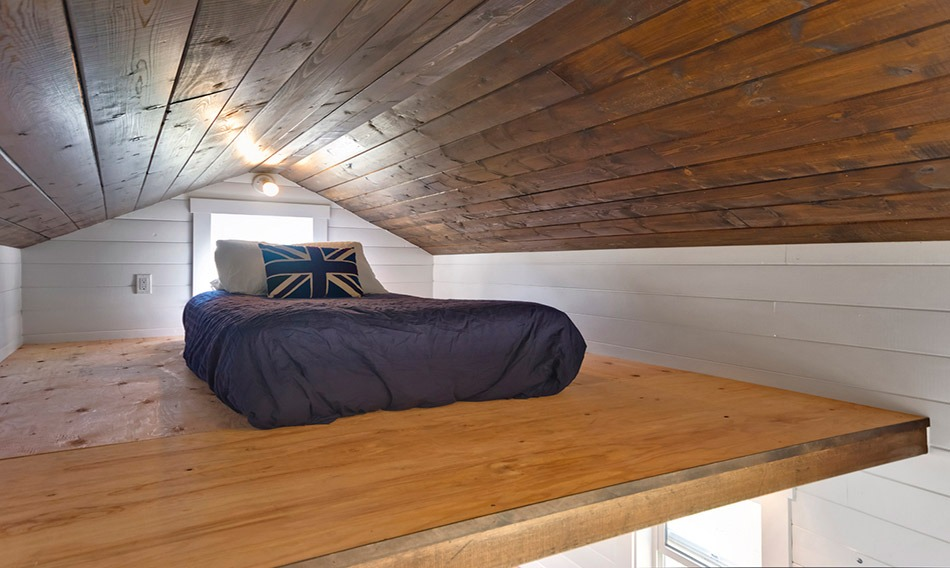 Bedroom Loft - Amalfi Edition by Mint Tiny Homes
