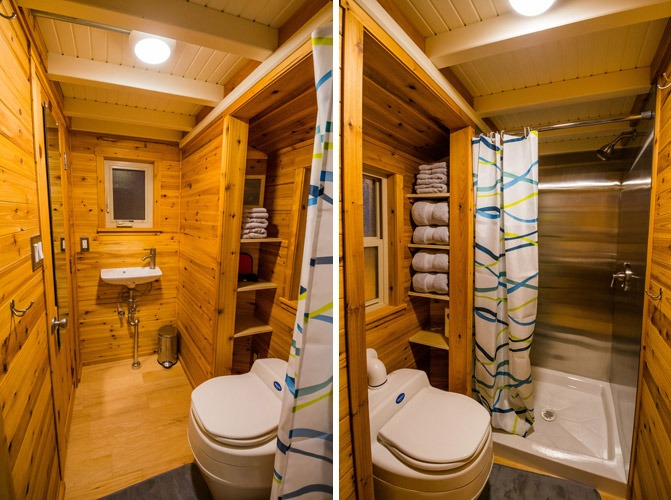 Bathroom - Blue Moon by MitchCraft Tiny Homes