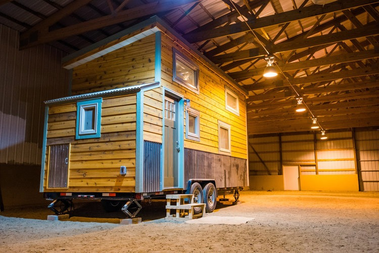 Exterior - Blue Moon by MitchCraft Tiny Homes