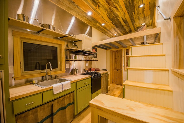Kitchen - Blue Moon by MitchCraft Tiny Homes