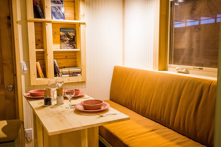 Dining Room - Blue Moon by MitchCraft Tiny Homes