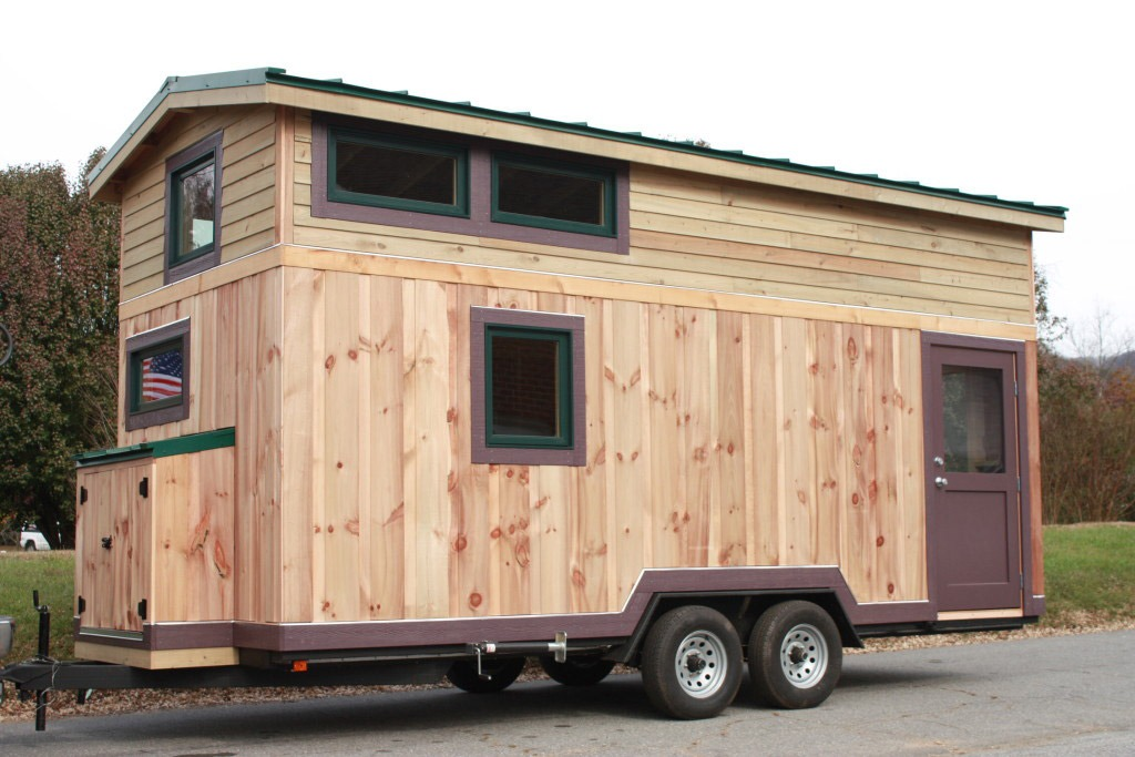 Exterior Back View - Fitness Nest by Blue Ridge Tiny Homes