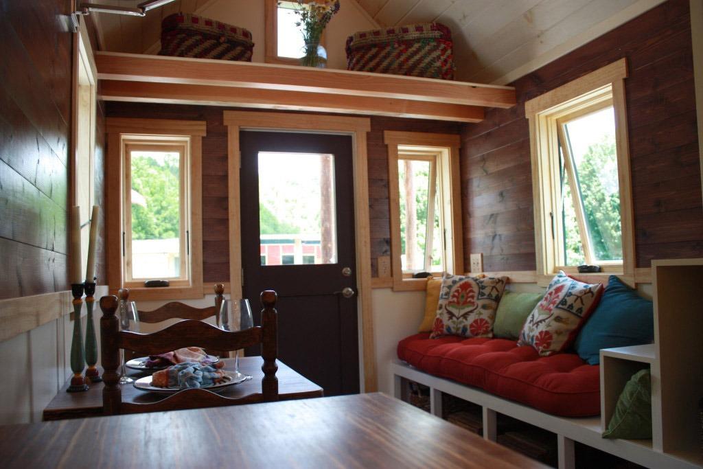 Living Room - Fitness Nest by Blue Ridge Tiny Homes