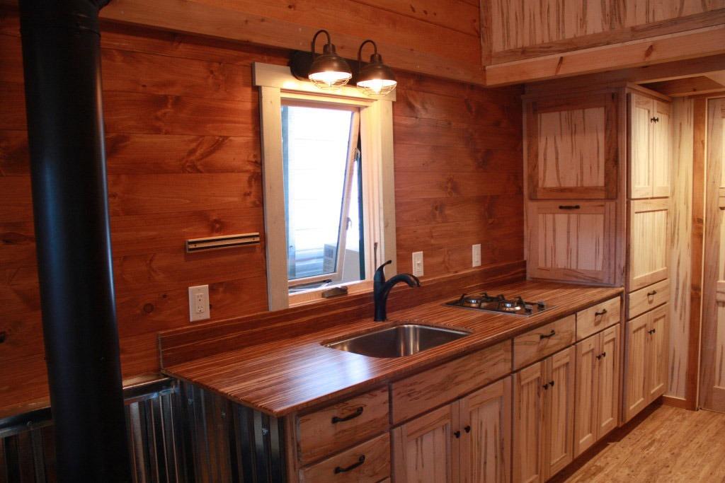 Kitchen - Fitness Nest by Blue Ridge Tiny Homes