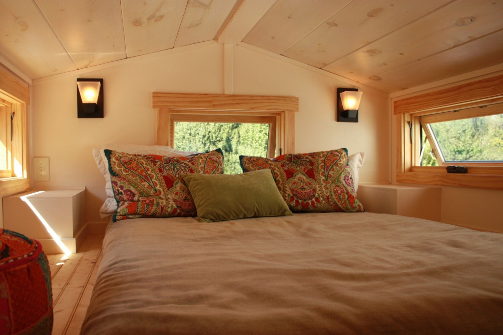Bedroom Loft - Fitness Nest by Blue Ridge Tiny Homes