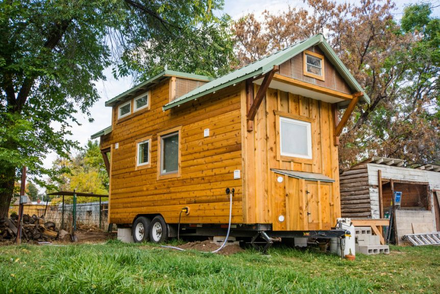 Bookworm by MitchCraft Tiny Homes