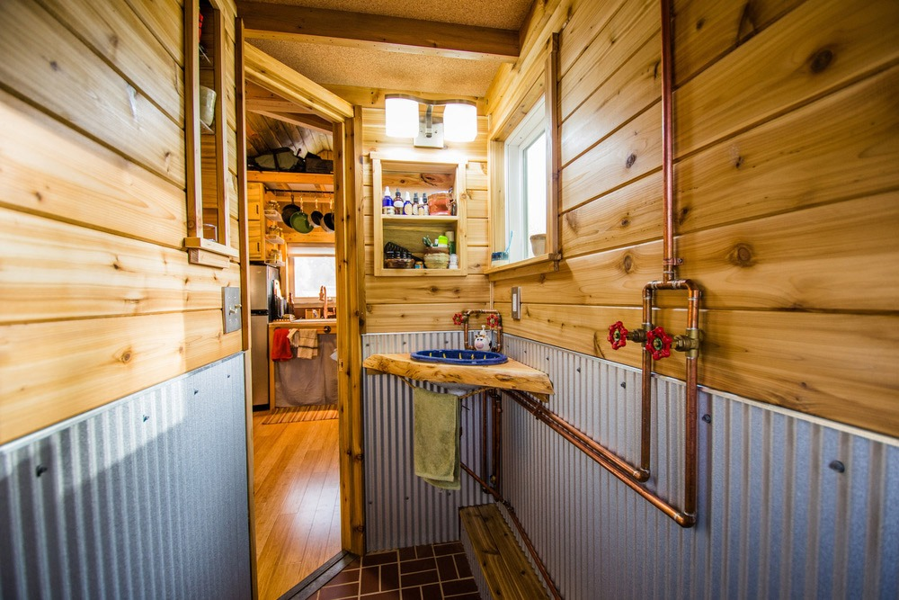 Bathroom - Bookworm by MitchCraft Tiny Homes