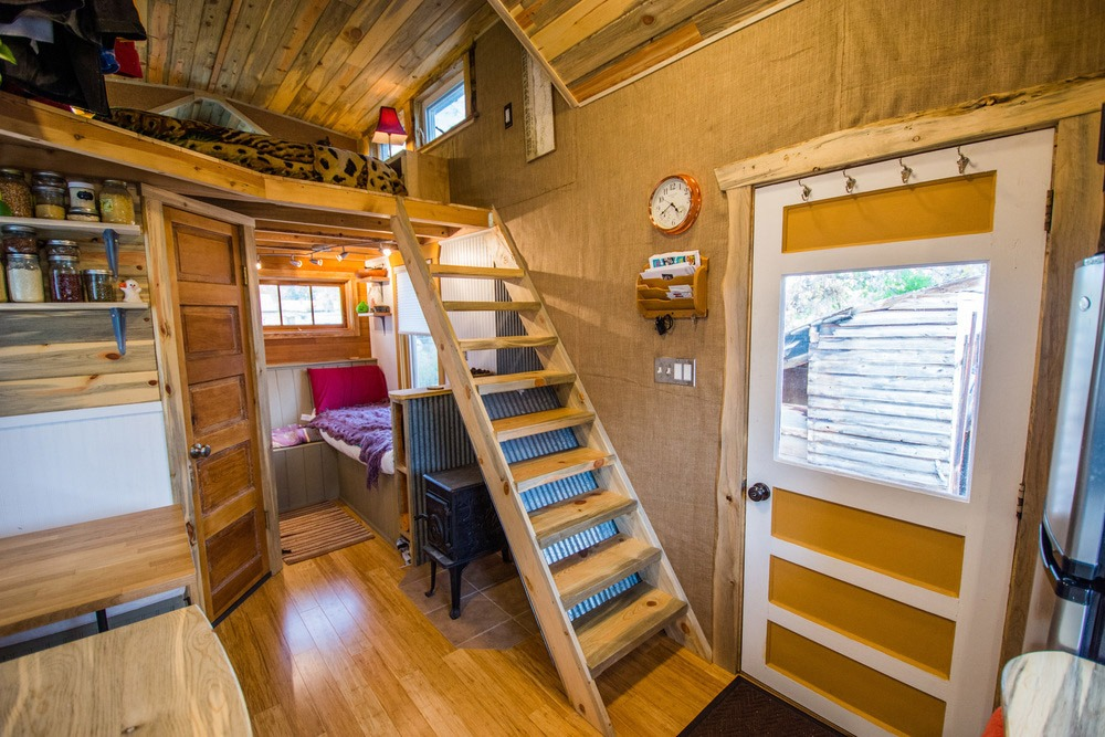 Interior View - Bookworm by MitchCraft Tiny Homes