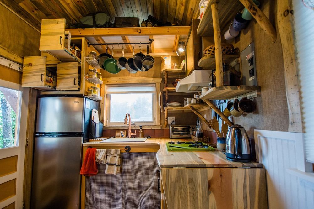 Kitchen Cabinets - Bookworm by MitchCraft Tiny Homes