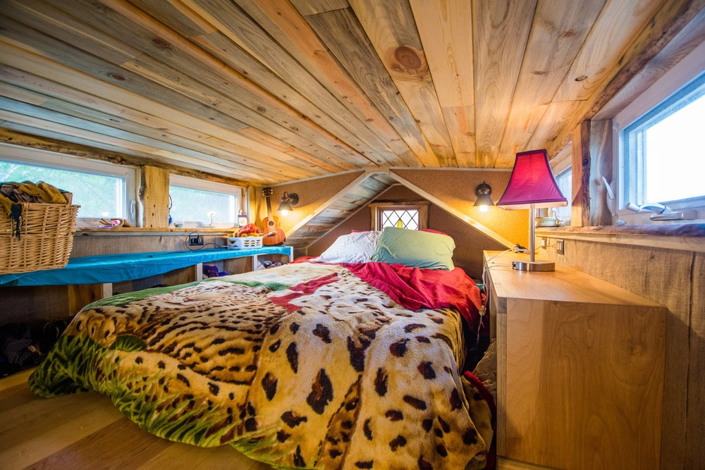 Bedroom Loft - Bookworm by MitchCraft Tiny Homes