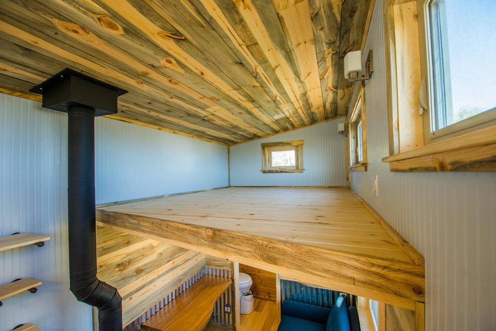 Bedroom Loft - Dennis' Tiny House by Mitchcraft Tiny Homes