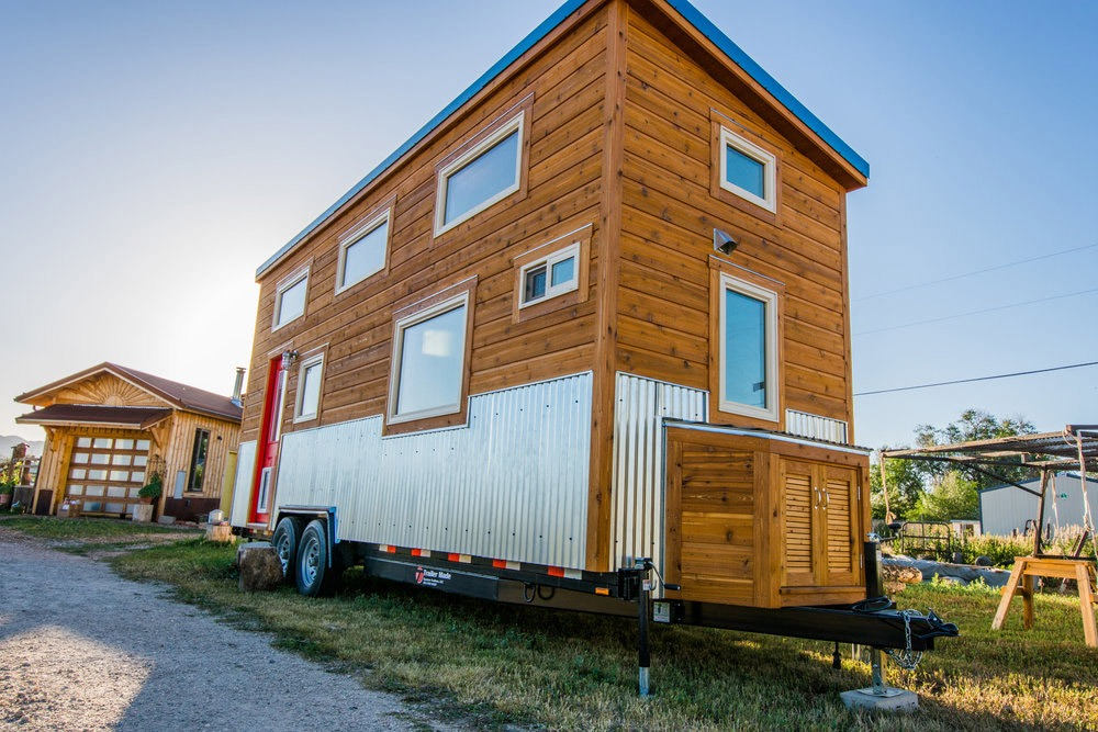 Exterior Side View - Dennis' Tiny House by Mitchcraft Tiny Homes
