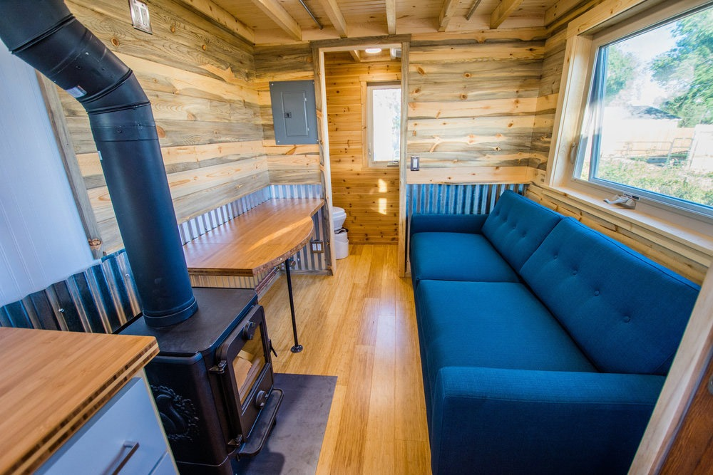 Living Room - Dennis' Tiny House by Mitchcraft Tiny Homes
