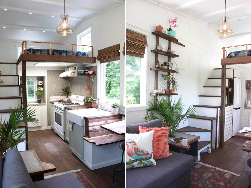 Kitchen and Stairs - Artisan Retreat by Handcrafted Movement