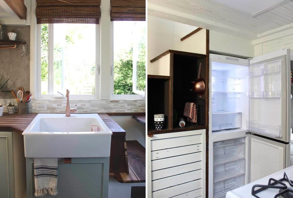 Bathroom and Storage Stairs - Artisan Retreat by Handcrafted Movement