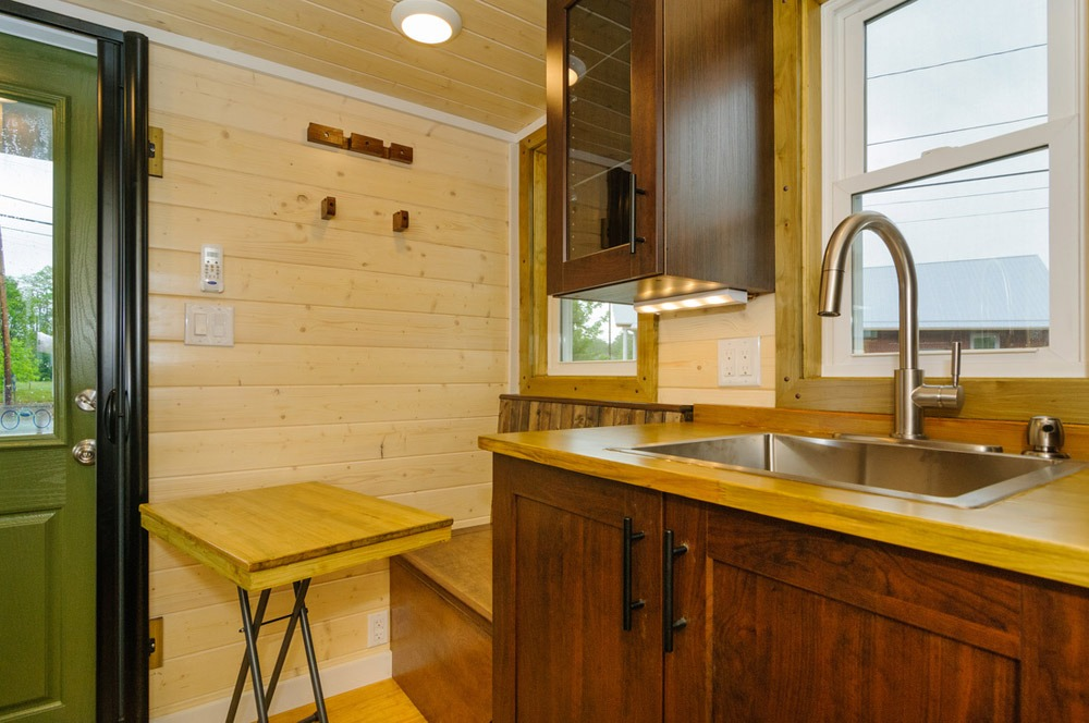 Kitchen Sink and Table - Hardy by Wishbone Tiny Homes