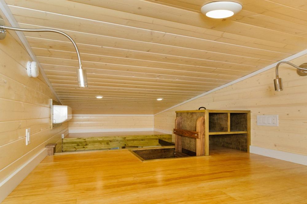 Bedroom Loft - Hardy by Wishbone Tiny Homes