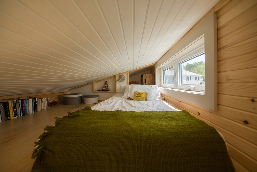 Bedroom Loft - Harmony House by Full Moon Tiny Shelters