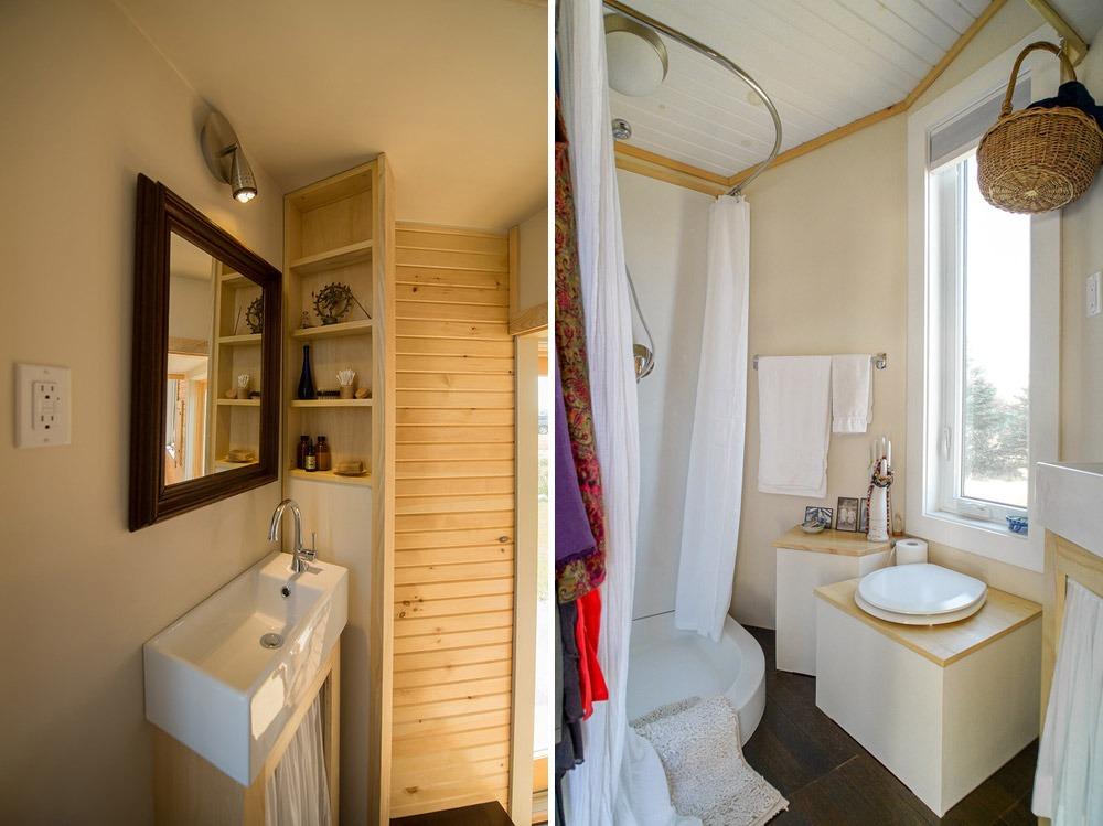 Bathroom - Harmony House by Full Moon Tiny Shelters