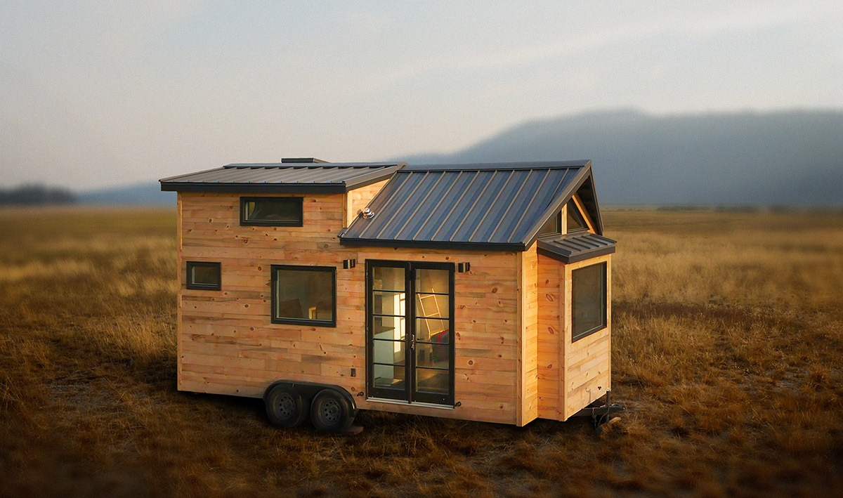 The hiatus by tongue groove tiny homes tiny living for Little house
