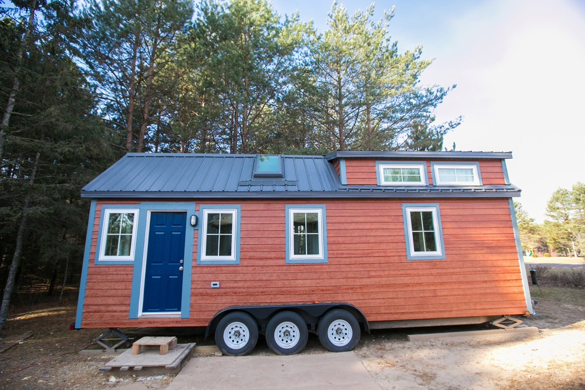 Exterior View - Hogan's Haven Tiny House