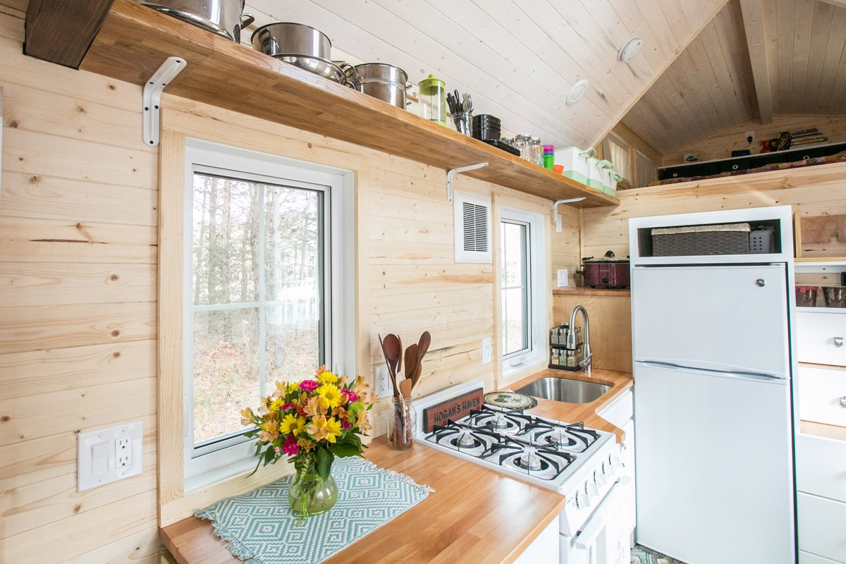 Kitchen - Hogan's Haven Tiny House