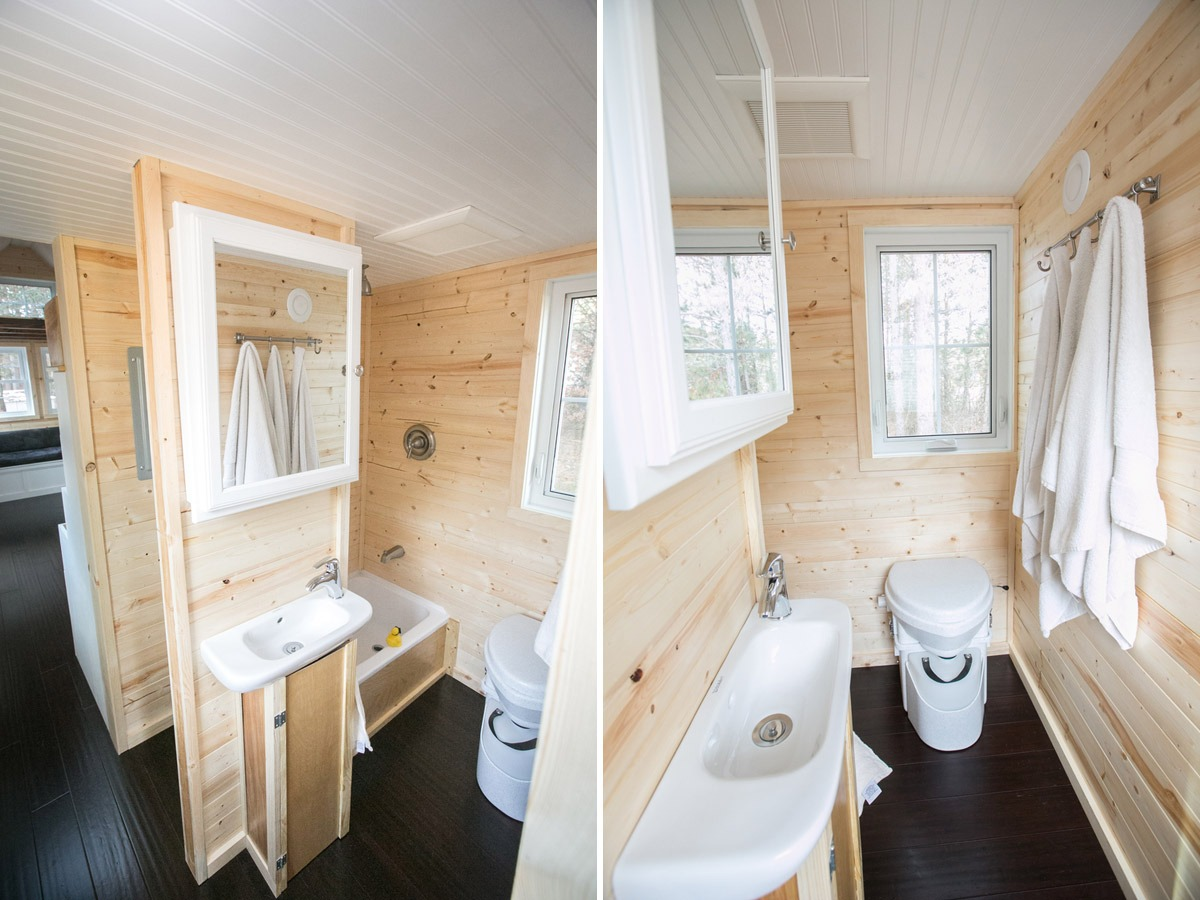 Bathroom - Hogan's Haven Tiny House