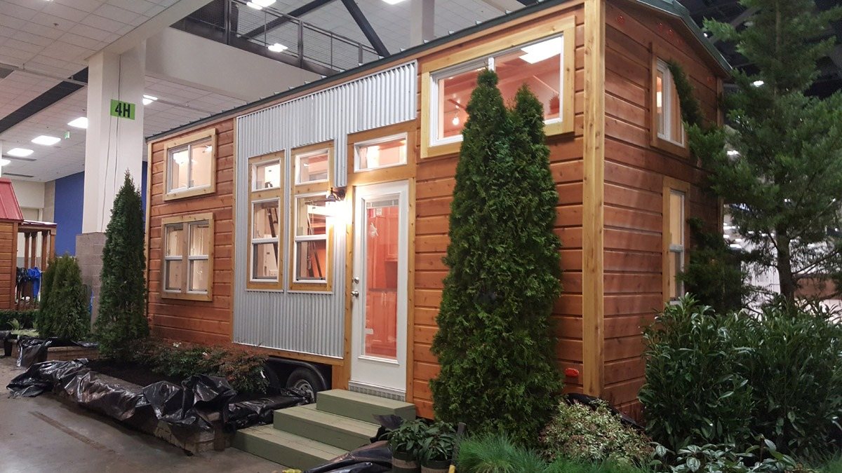 Rustic Exterior Option - Ko'olau by Tiny Pacific Houses