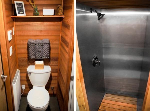 Bathroom - Kootenay by Greenleaf Tiny Homes