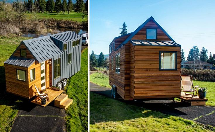 Exterior - Kootenay by Greenleaf Tiny Homes