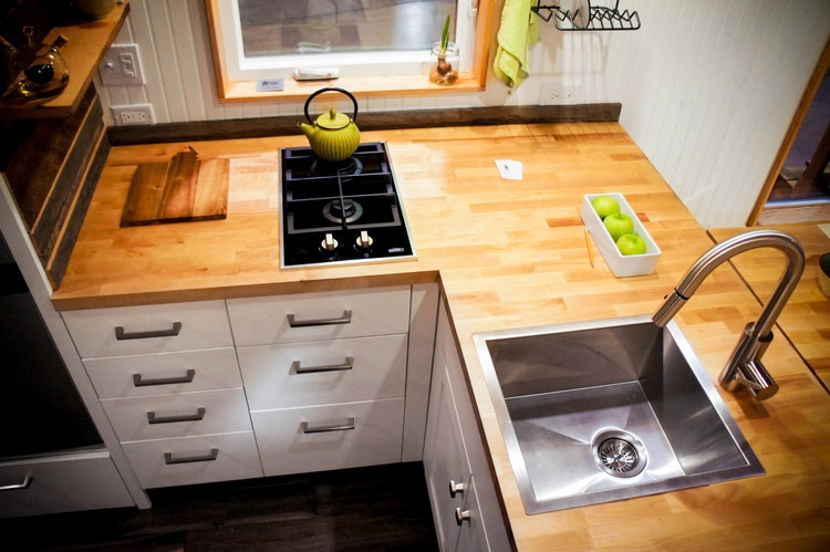 Kitchen Sink and Countertop - Kootenay by Greenleaf Tiny Homes