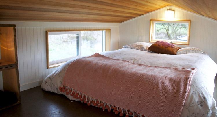 Bedroom Loft - Kootenay by Greenleaf Tiny Homes