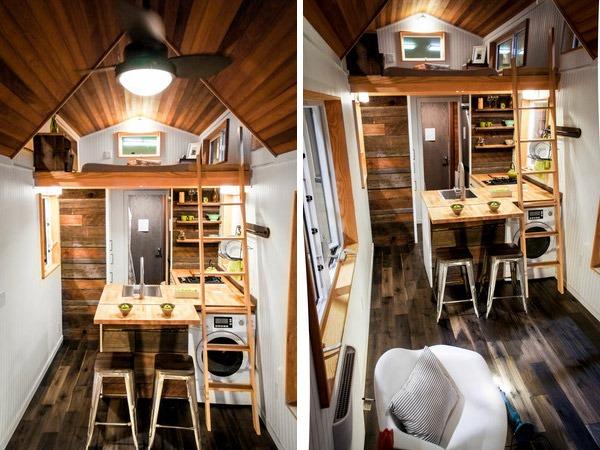 Interior View - Kootenay by Greenleaf Tiny Homes