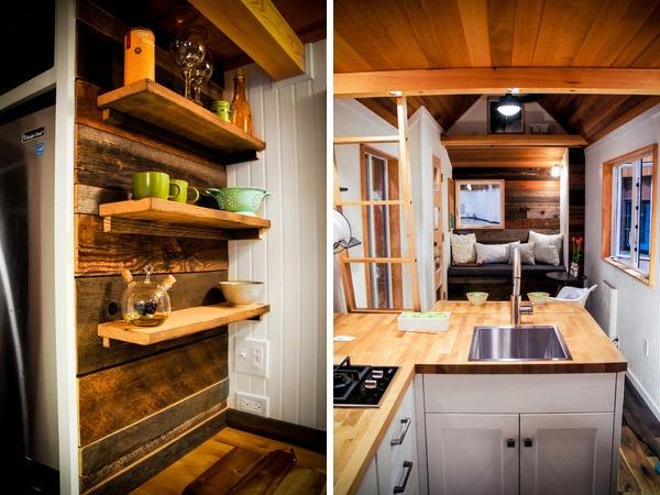 Kitchen - Kootenay by Greenleaf Tiny Homes