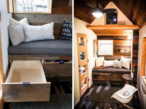 Living Room - Kootenay by Greenleaf Tiny Homes