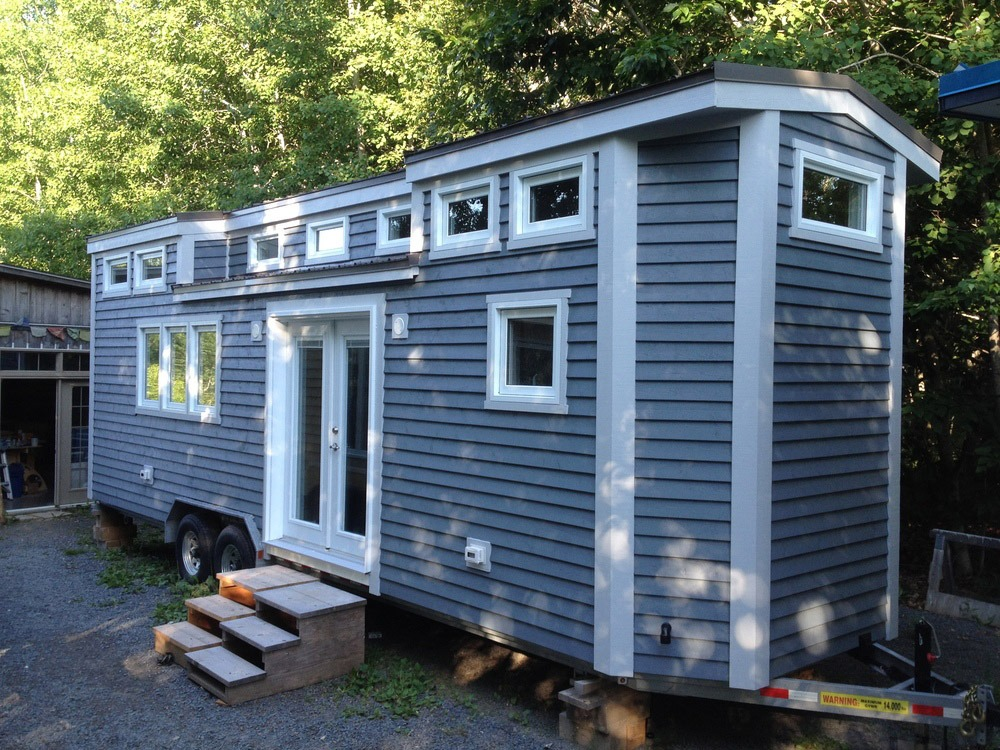 Exterior Side View - LGV by Full Moon Tiny Shelters