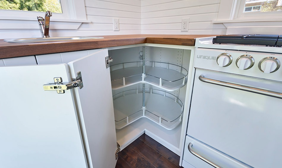 Kitchen Cabinets - Loft Edition by Mint Tiny Homes